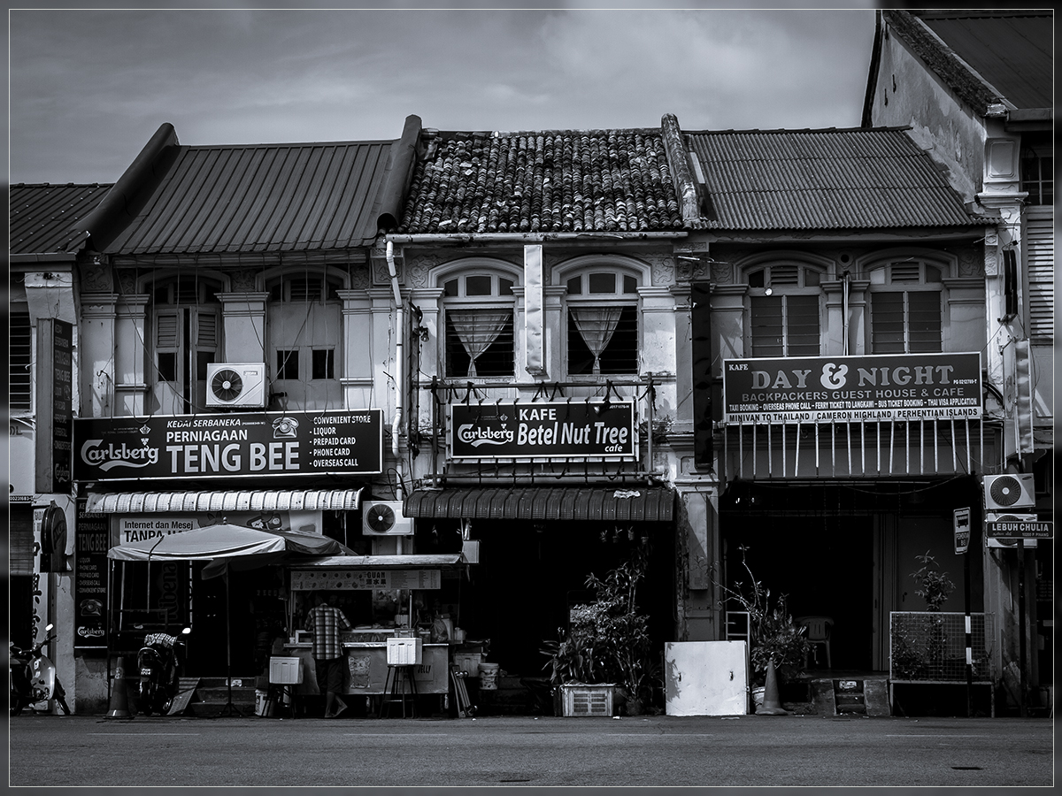 Shop houses Penang